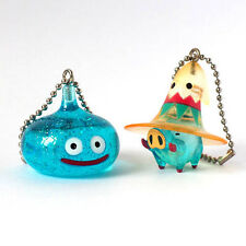 Square Enix SQEX Toy Dragon Quest Crystal Monsters Slime Blue Keychain Set of 2