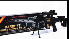 Barrat sniper laser gun toy gift Christmas new with light and firing noise