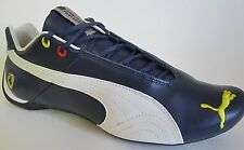 PUMA FUTURE CAT LEATHER SF 10 FERRARI BLUE  WALKING SHOES 7.5
