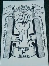 IRISH REPUBLICAN SMASH H-BLOCK BOBBY SANDS LONG KESH HMP MAZE SINN FEIN POSTER