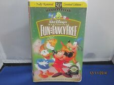 Fun and Fancy Free vhs New Sealed in Clamshell case Super Fast Shipping+Tracking