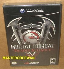 GC Mortal Kombat: Deadly Alliance Black Label New Sealed (GameCube, 2002) & Wii