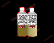 Polycraft SG2000 120gm Fast Cast Polyurethane Liquid Plastic Casting Resin kit