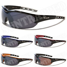 Mens X Loop Black Sports Sunglasses Charcoal Lens - Fishing Cycling Driving