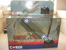 CORGI CS90613 1/72 SOPWITH CAMEL Royal Flying Corps France WW1 Desk Model Stand