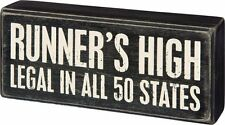 Primitives by Kathy Runner's High Legal In All 50 States Wood Box Sign P31070