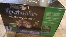 HOLIDAY BRILLIANT SPECTACULAR LIGHT & SOUND SHOW with expansion box set included