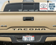 Toyota Tacoma Tailgate back Vinyl Letter Decals Stickers