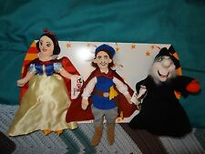 FIVE New Old Stock Club Disney Snow White bean bag figures +1 gift sleeve