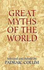 Great Myths of the World (Dover Books on Anthropology and Folklore)-ExLibrary