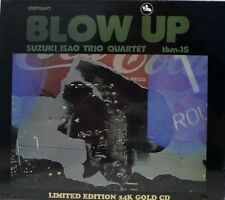 ISAO SUZUKI QUARTET - TBM - IMPEX - IMP-8307 - BLOW UP - 24 KARAT GOLD CD