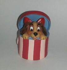 "Rare LENOX DISNEY Lady and the Tramp Porcelain 2"" Figurine"