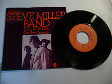 "THE STEVE MILLER"" LIVING IN USA-disco 45 giri ELECTROLA Ger 1968"" RARO- PERFETTO"