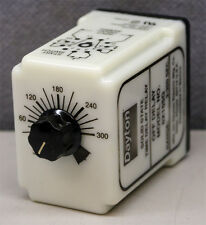 Dayton Electric Mfg. Co. 6X155G Solid State Time Delay Relay 3-300 Seconds