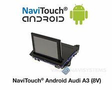 "Navigation Audi A3 (8V) 7""Touchscreen AUX/AMI Audio - Android,GPS,Wifi,3G,USB,SD"