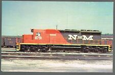 Vintage Mary Jane's Railroad Specialities National Railways Of Mexico Postcard