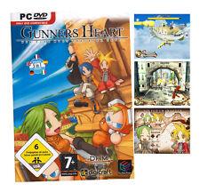 Gunners Heart PC DVD ROM Shooter game - for fans of skygunner !