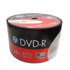 1000 Pack HP Brand Logo Blank 16x DVD-R DVDR Recordable Disc Media Wholesale Lot