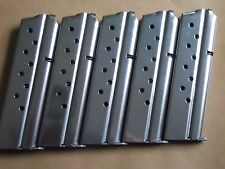 1911.38 SUPER mag, magazine,mags, 5 mags,9shot,stainless steel. USA,GREAT DEAL