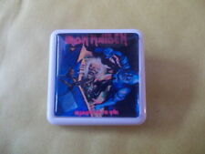 IRON MAIDEN NO PRAYER FOR THE DYING  ALBUM COVER    BADGE PIN