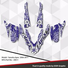 *NEW* SLED GRAPHIC KIT GRAPHICS WRAP FOR YAMAHA APEX 2006-2011 20011