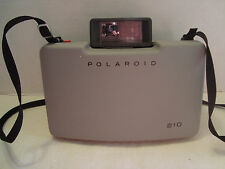 Polaroid 210 With Flash And Carrying Case And Strap!