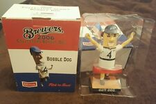 4th of July 2006 Milwaukee Brewers BOBBLE DOG #4 Collectible Bobble Head New NIB