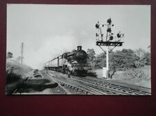 PHOTO  GWR LOCO NO 4092 'DUNRAVEN CASTLE' IN THE 1950'S