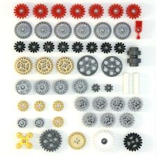 Lego Technic - Gears Cogs Wheels Worms Clutch Pulley - 54 Parts - NEW