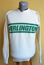 VTG Cliff Engle Arlington High School Knit Sweater Football Alumni Texas Colts L