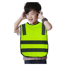 High Visibility Reflective Traffic Vest Safety Jacket For Child Student Kids