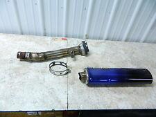 02 Suzuki GSF 1200 GSF1200 Bandit micron muffler pipe exhaust aftermarket