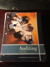 Auditing ACCT 470 ISBN #9781323420935
