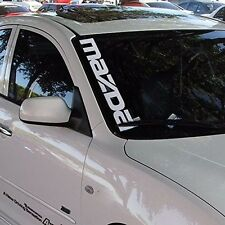 Front Windshield Banner Side Decal Vinyl Car Stickers for MAZDA Auto Exterior