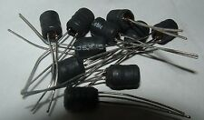10 x Murata 22R106 10mH 63mA conductor radial inductor 22R106C