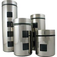 Ragalta RCA-054 4 Piece Stainless Steel Canister Set