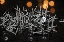 100 Teelichtdochte 3 cm Kerzen herstellen basteln Votiv Kerzen RD 2 Runddocht