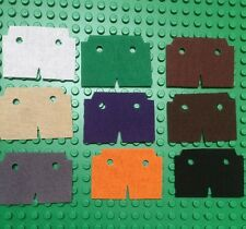 pick 1 custom made to fit  lego minifigs Trench Coat cape Black  brown  Red