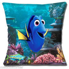 "Finding Dory Disney Pixar Cartoon Character Fish Film 16"" Pillow Cushion Cover"