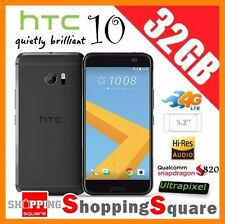 HTC 10 M10 One M10 4G LTE 32GB Unlocked Smartphone Black * AU Warranty *