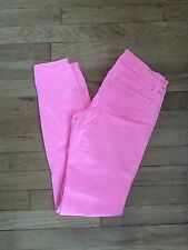 American Eagle Outfitters Hot Pink Bubblegum Jeans Size 0 Skinny