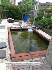 HDPE Liner 2m X 3m for Pond Aquaponic System Planter Box Garden Bed Tank Creek