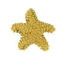 Starfish Charm 18kt Yellow Gold