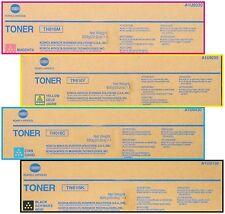 4 NEW Genuine Konica Minolta Bizhub press C6000 C7000 C7000P Toner TN616K TN616C