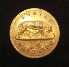 14th (Buckinghamshire) Regiment of Foot 1855-1881 Officers large Gilt button