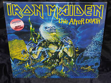 Iron Maiden Live After Death SEALED USA 1985 2 LP W/ NO BARCODE