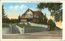 Beverly Hills CA Actor Theodore Roberts Home/Residence c1920 Postcard