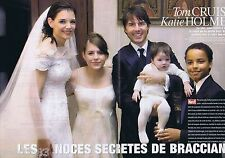 COUPURE DE PRESSE CLIPPING 2006 Tom Cruise & Katie Holmes   (8 pages)