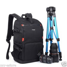DSLR SLR Black Camera Bag Photography Backpack Case for Canon Nikon Pentax