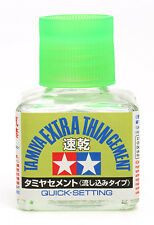 Tamiya 40ml Extra Thin Quick Setting Cement # 87182